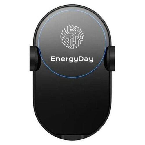 Автомобильный держатель с беспроводной зарядкой для iPhone и Samsung EnergyDay/ Зарядка для телефона