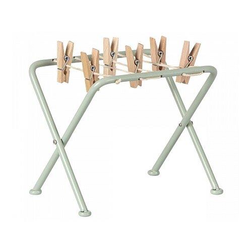 Maileg Drying rack with pegs серый/коричневый