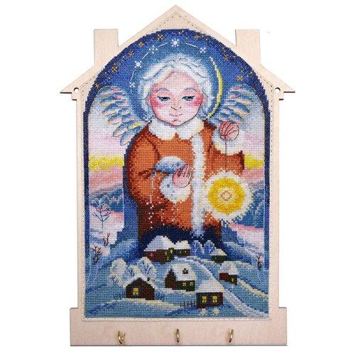 Набор для создания ключницы Снежный ангел 15 x 25 см марья искусница 22.002.11