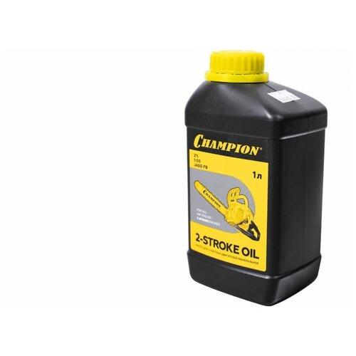 Масло 2-х тактное CHAMPION JASO FB минеральное (1л), 952831