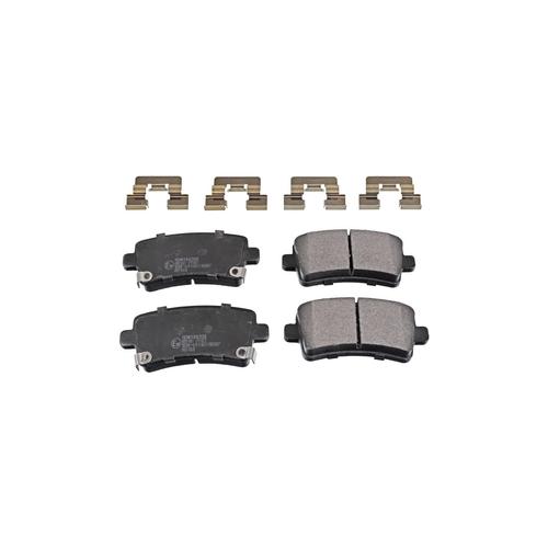NIBK pn0840 (0542027 / 13237765 / 13237766) колодки тормозные дисковые Opel (Опель) insignia 2.0 2008 - Opel (Опель) insignia 2.0 2010 - Opel (Опель) insignia 1.8 2