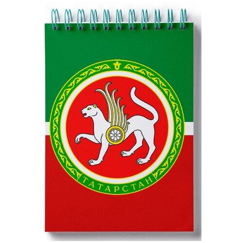 Блокнот для зарисовок, скетчбук Флаг Татарстана
