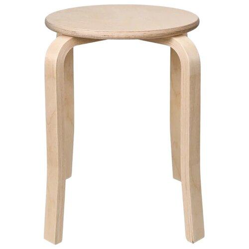 Табурет KETT-UP Eco Style, дерево, цвет: натуральный стул kett up picnic eco дерево цвет беленый