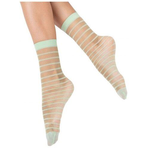 Капроновые носки MiNiMi Folletto, размер 0 (one size), turchese