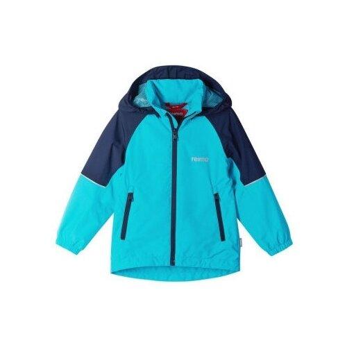Ветровка Reima размер 122, голубой/синий брюки reima voyage 532083 размер 122 9990 черный