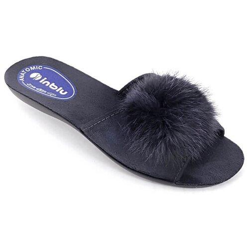 Тапочки Inblu черный 39