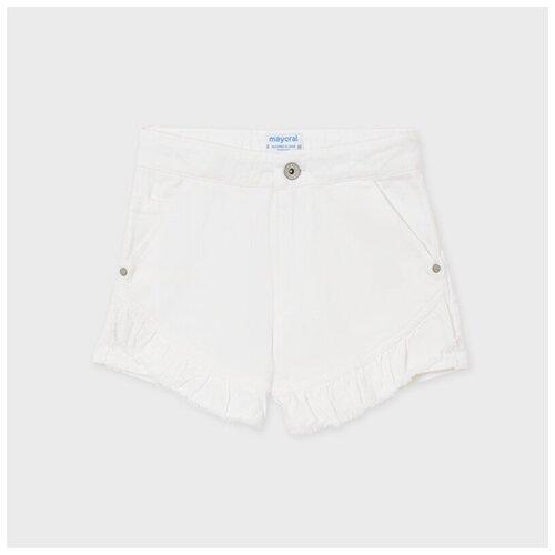 Шорты джинсовые для девочки Mayoral белые 16 л.
