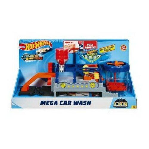 набор игровой mattel hot wheels мертвая петля Игровой набор Mattel Hot Wheels Сити МегаАвтомойка
