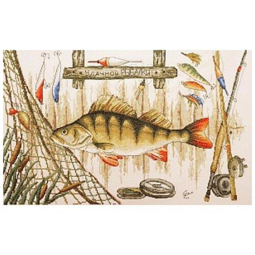 Фото - Набор для вышивания Удачной рыбалки 45 х 30 см МАРЬЯ ИСКУСНИЦА 11.006.02 фольга пищевая марья искусница особо прочная 29 см 10 м