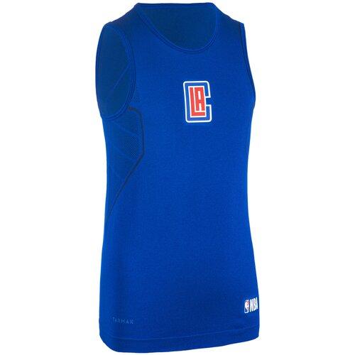Термобелье для баскетбола детское UT500 NBA LOS ANGELES CLIPPERS, размер: 141-150CM10-11A, цвет: Глубокий Индиго/Сине-Фиолетовый/Сине-Фиолетовый TARMAK Х Декатлон