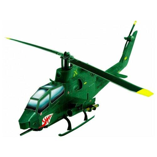 Фото - Сборная модель Умная Бумага Вертолет АН-1 Cobra (зеленый) (190-01) 1:72 модель ударный вертолет ан 64а апач 1 72 тм моделист
