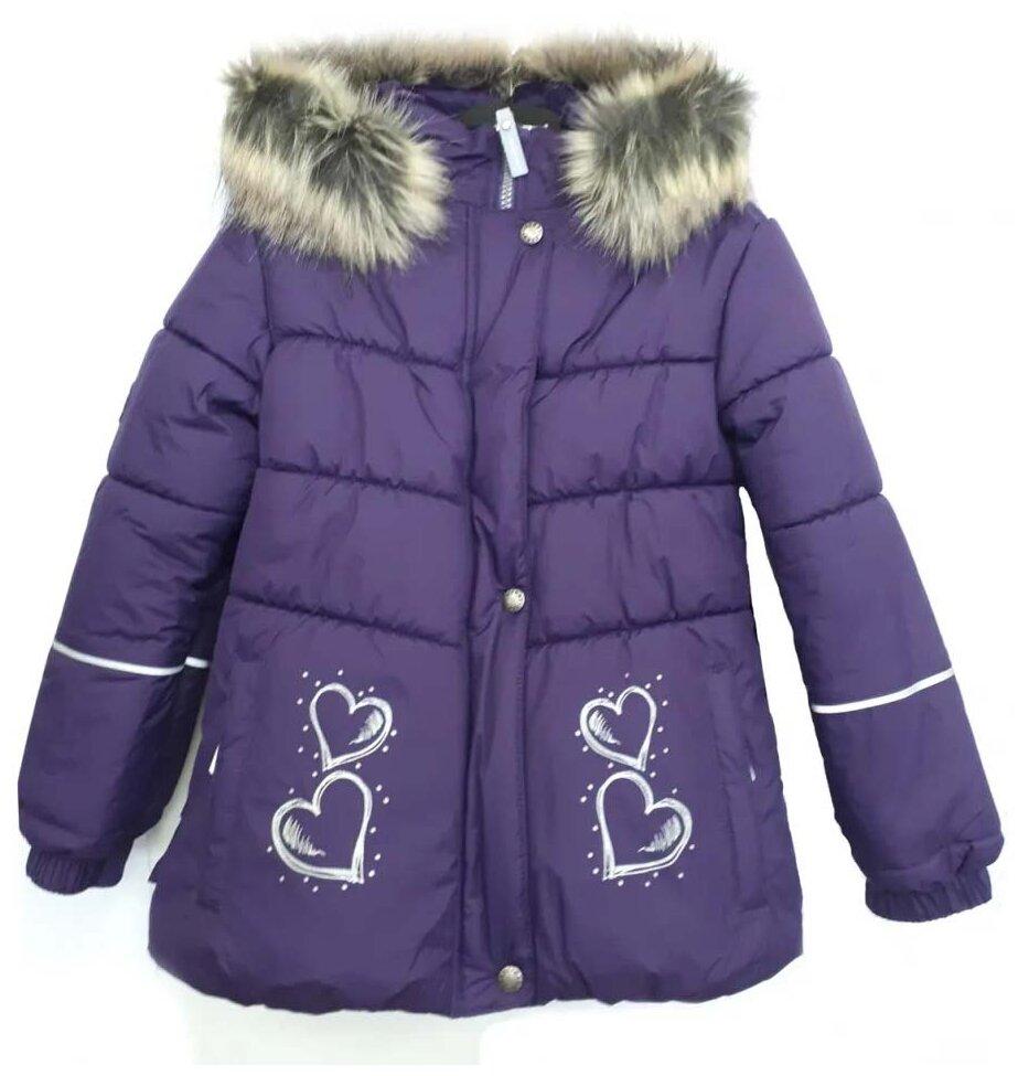 Куртка для девочек FRANCA K18532-612, Kerry, Размер 110, Цвет 612-фиолетовый — купить по выгодной цене на Яндекс.Маркете