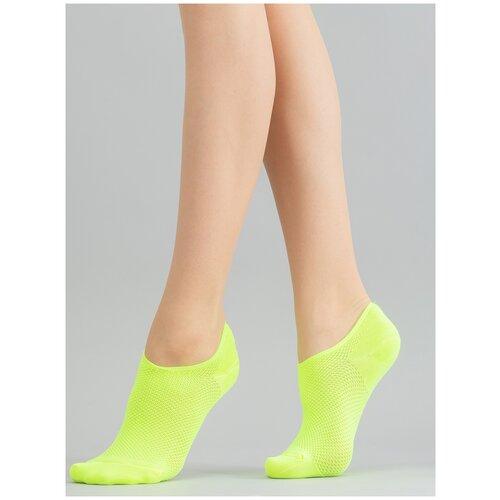 Носки Giulia WS0 NEON PA 001 размер UNI, yellow neon (Зеленый)