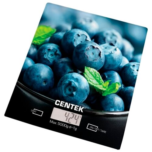 весы centek ct 2413 Кухонные весы CENTEK CT-2462 Голубика