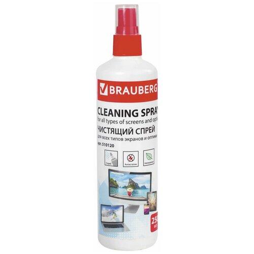 Фото - Чистящая жидкость-спрей BRAUBERG для LCD (ЖК)-мониторов, оптики и стекол, 250 мл, 510120 чистящая жидкость спрей brauberg 513288