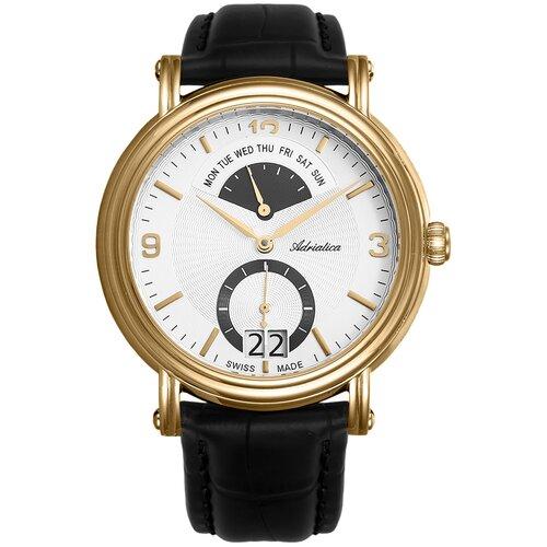 Фото - Часы наручные швейцарские мужские Adriatica A1194.1253QF мужские часы adriatica a1246 5217q