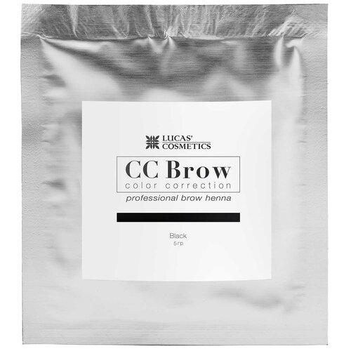 Фото - CC Brow Хна для бровей в саше 5 г black cc brow хна для бровей в саше 10 г blonde