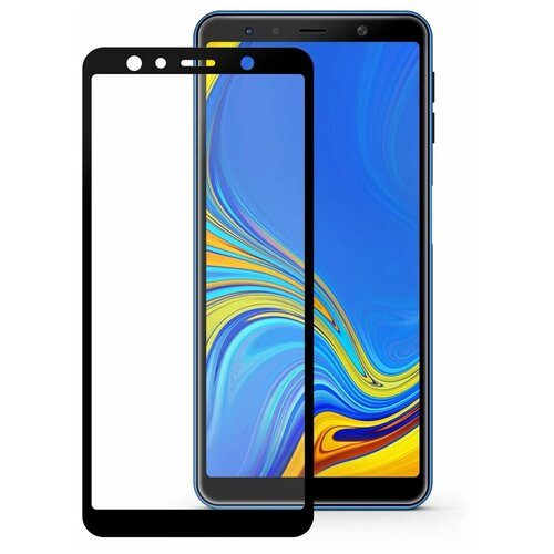 Защитное стекло Mobius 3D Full Cover Premium Tempered Glass для Samsung Galaxy A7 2018 черный защитное стекло mobius 3d full cover premium tempered glass для samsung galaxy a6 2018 черный