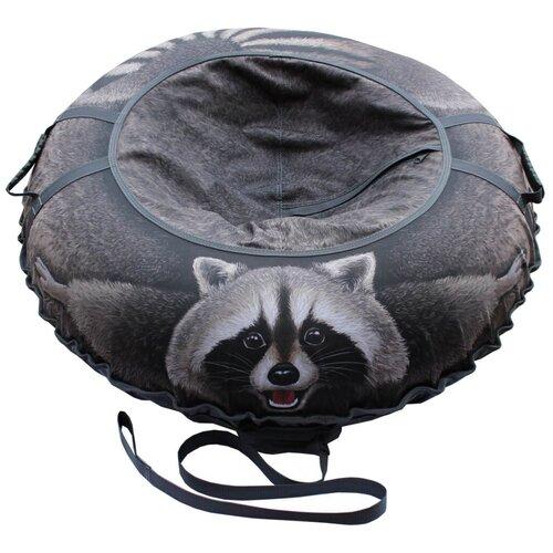 Фото - Тюбинг Митек Енот 110 см серый сумка рыболовная митек с крышкой овал 40х20х40 серый