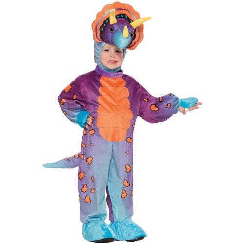 Карнавальный костюм для детей Forum Novelties Динозавр Трицератопс детский, XS (2-3 года)