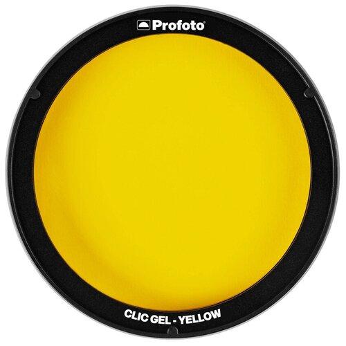 Фото - Фильтр для вспышки Profoto Clic Gel Yellow для A1, A1X, A10, C1 Plus вспышка profoto a1x для fujifilm