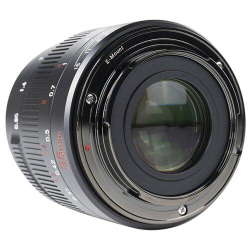 Фото - Объектив 7artisans 35mm f0.95 Canon (EOS-M Mount) черный объектив 7artisans 18mm f6 3 canon eos m mount