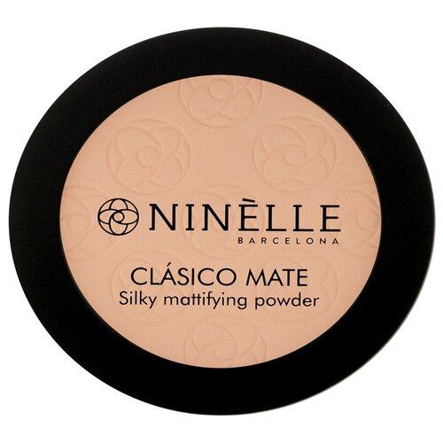 Ninelle Пудра компактная CLASICO MATE 203, натуральный бежевый