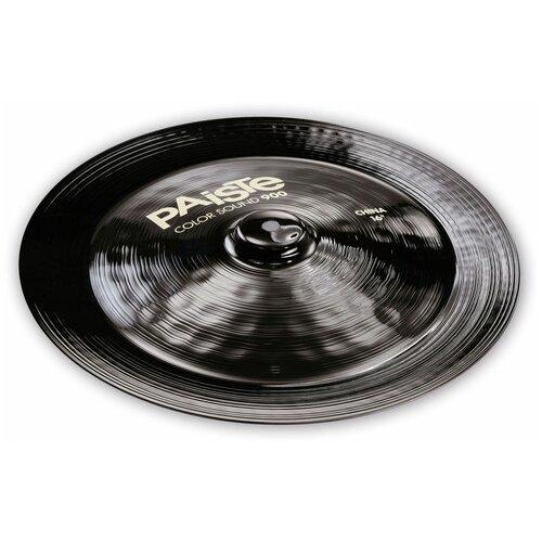 Paiste 0001912616 Color Sound 900 Black China Тарелка 16