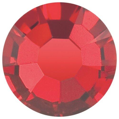 Купить Стразы клеевые PRECIOSA 4, 7 мм, стекло, 144 шт, красные, 90070 (438-11-615 i), Фурнитура для украшений