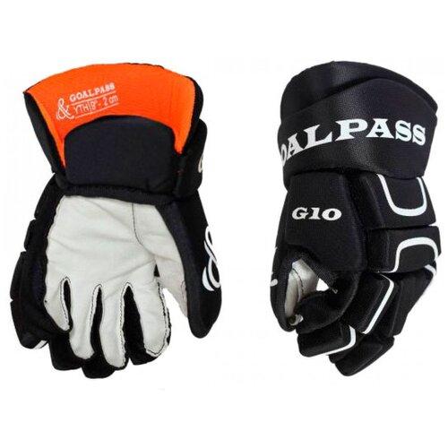 Перчатки хоккейные GOAL&PASS G10 YTH детские(10)