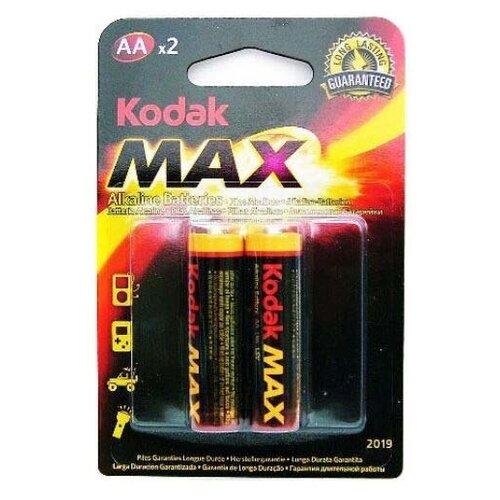 Фото - Батарейка Kodak Max Alkaline AA (LR6), 2 шт. батарейка energizer max aa lr6 6 шт