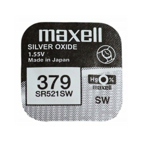 Фото - Батарейка Maxell SR521SW, 1 шт. батарейка maxell sr 621sw 1 шт