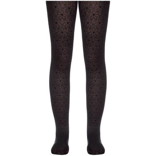 Фото - Колготки Conte Elegant JASMINE, размер 116-122, nero колготки conte elegant lucia размер 116 122 bianco
