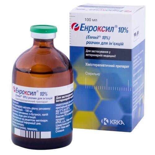 Энроксил 10% раствор для инъекций, 100 мл