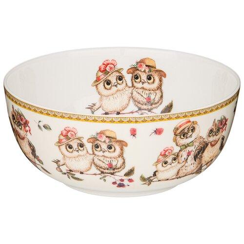 Салатник - тарелка суповая owls party 15 см Lefard (415-2173)