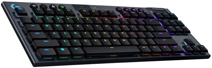 Игровая клавиатура Logitech G G915 TKL Carbon — купить по выгодной цене на Яндекс.Маркете