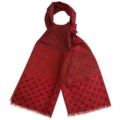 Шарф Dr.Koffer S810456 100% шерсть красный