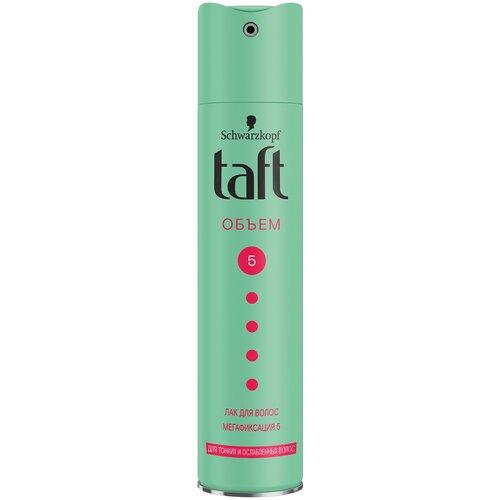 Купить Taft Лак для волос Объём Мегафиксация, экстрасильная фиксация, 225 мл