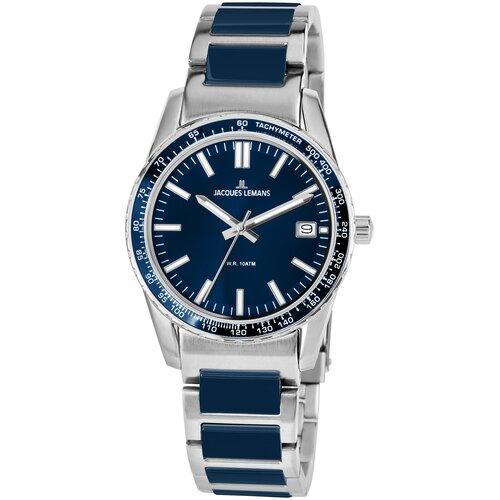 Фото - Наручные часы JACQUES LEMANS 1-2060i наручные часы jacques lemans 1 2094d
