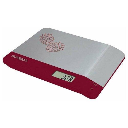 Фото - Кухонные весы, Oursson, Темная вишня весы кухонные oursson ks0504pd dc