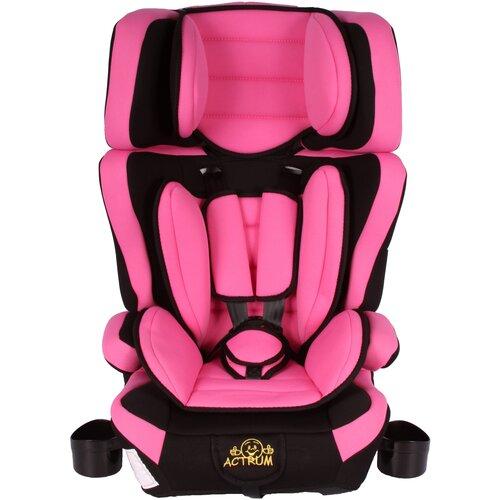 Детское автокресло ACTRUM BXS-218 (9-36кг) Розовый