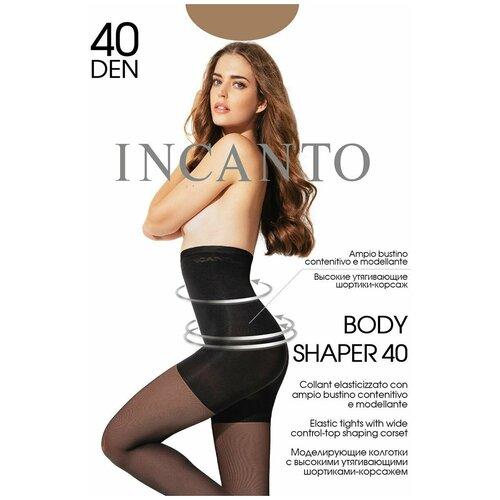 INCANTO COLLANT Колготки Body Shaper 40 (daino, 5) (моделир. с высоким поясом-корсажем; 19% эластана)