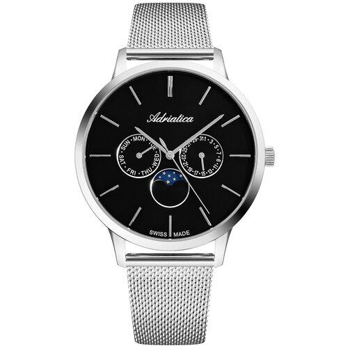 Фото - Часы наручные швейцарские мужские Adriatica A1274.5114QF мужские часы adriatica a1246 5217q