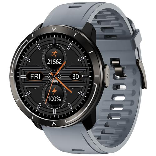 Часы Smart Watch M18plus GARSline черные (ремешок серый)
