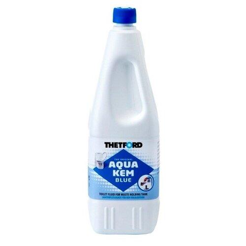 Фото - Жидкость для нижнего бака биотуалета Aqua Kem Blue (2,0 л.) расщепитель для нижнего бака thetford aqua kem blue