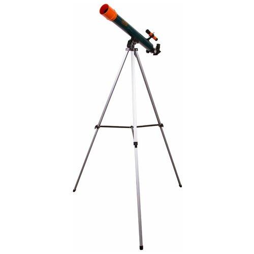 Фото - Телескоп LEVENHUK LabZZ T2 синий/оранжевый/черный лупа levenhuk labzz c3 синий оранжевый
