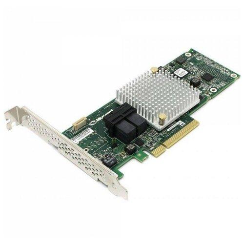 Контроллер SAS/SATA RAID Adaptec ASR-8805E зеленый