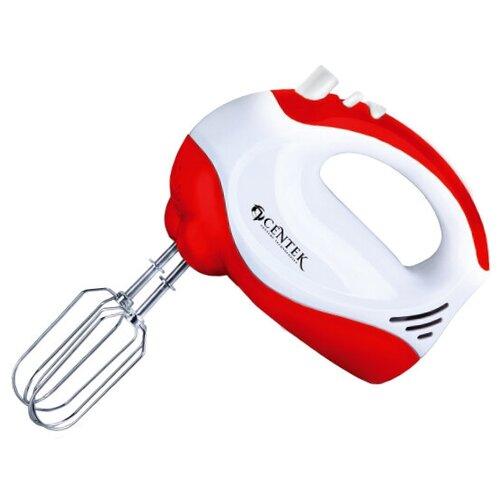 Миксер CENTEK CT-1110, белый/красный миксер centek ct 1111 белый красный