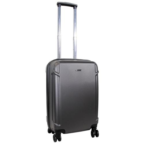 Фото - Чемодан Rion+ 434-C 40 л, серый чемодан rion 418 3 62 л серый
