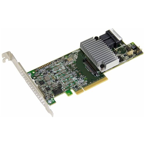 Фото - Контроллер SAS/SATA RAID LSI Logic MegaRAID SAS 9361-8i 1GB зеленый sas sata raid контроллер